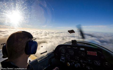 Poste de pilotage Jodel D112